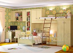 Детская мебель Итальянский мотив