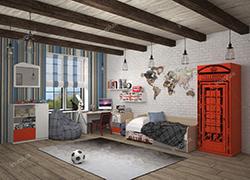 Детская мебель Гео Лондон Новинка