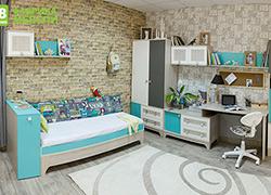Детская мебель Индиго Скидка 20% столы, стеллажи,тумбы и др.Скидка 20% столы, стеллажи,тумбы и др.
