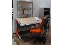 Детская мебель Парта Гарварт+стеллаж+стул Скидка 50% Цена 36900 руб.