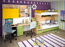 Детская мебель Солнечный город