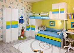 Детская мебель Твист Олли Скидка 20% столы, стеллажи,тумбы и др.